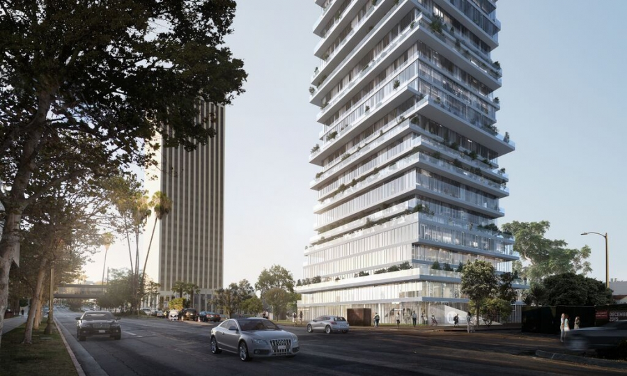 Photo: Proposal for Wilshire looking East. Rendering by PAR.