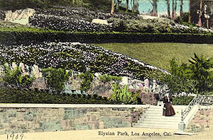 Elysian park, 1909 (image credit: Los Angeles Public Library)