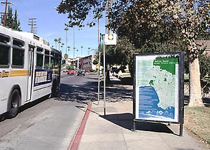 Public green poster in context (image credit: http://www.publicgreen.com)