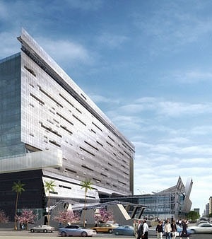 "Morphosis: ""CalTrans District 7 Headquarters"" (courtesy Urban Partners, LLC)"