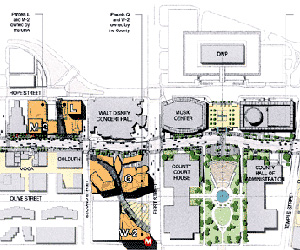 Grand Avenue/Bunker Hill Plan, 2004