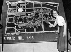 Bunker Hill Plan, 1950 - City Planning Authority/CRA