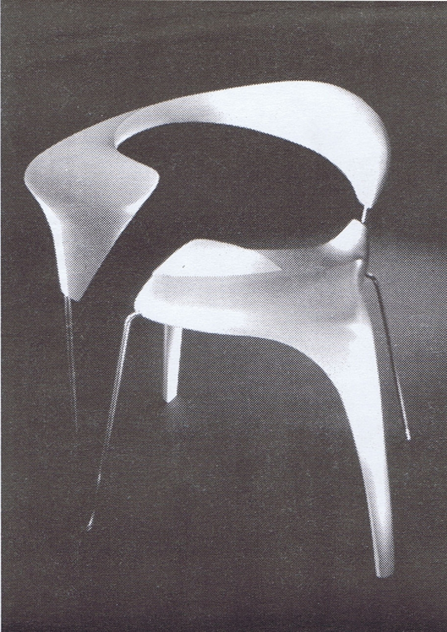 Chair Design. Cecilia Vitas Volcoff & Arsenio Garcia Monsalro, Photography: Steven Heller
